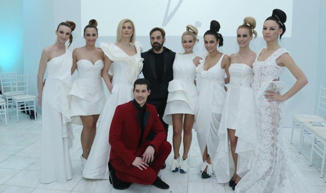 Όλα όσα έγιναν στο λαμπερό fashion show του Paris Valtadoros - Πλήθος επωνύμων στο catwalk με πρωταγωνίστρια της βραδιάς την Ραχήλ Μακρή - Κυρίως Φωτογραφία - Gallery - Video