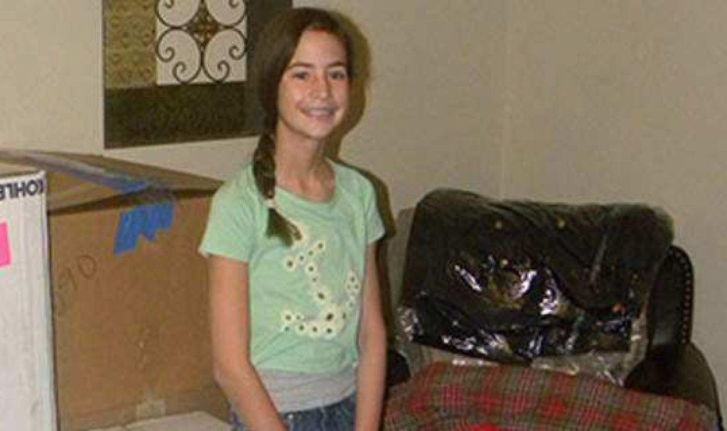 Τοp Woman η 12χρονη Μακένα : Μάζεψε 1.000 παλτά για τους άστεγους σε τεράστιες κούτες - Το κορίτσι - ελπίδα - Κυρίως Φωτογραφία - Gallery - Video