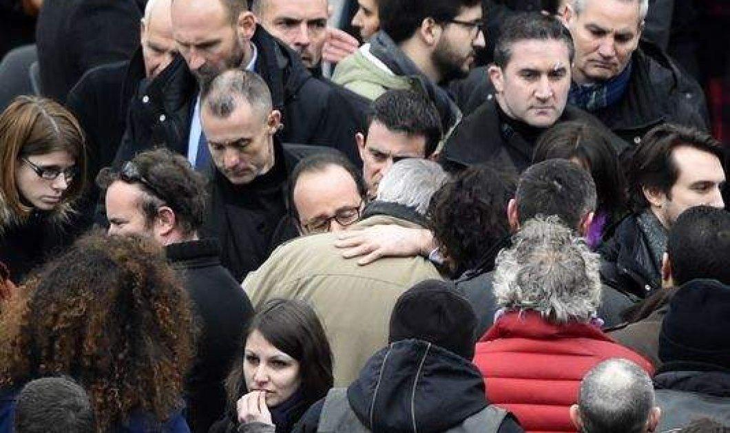 Το Παρίσι θυμάται το Charlie Hebdo: Η μεγαλιώδης συγκέντρωση στην Πλατεία Δημοκρατίας - Ένας χρόνος μετά... - Κυρίως Φωτογραφία - Gallery - Video