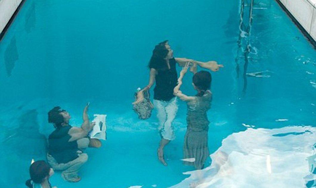 Βούτηξαν μέσα στην πισίνα; Η πιο εντυπωσιακή οφθαλμαπάτη που έχετε δει   - Κυρίως Φωτογραφία - Gallery - Video
