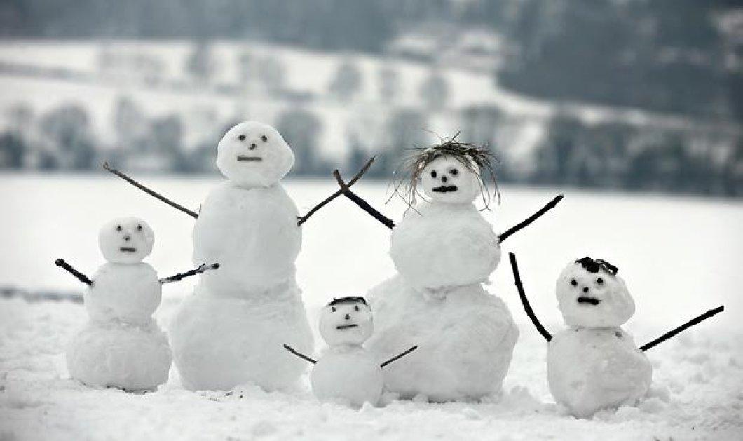 Έρχονται... χιόνια σε όλη τη χώρα! Ραγδαία επιδείνωση - Δείτε που θα βρέξει  - Κυρίως Φωτογραφία - Gallery - Video