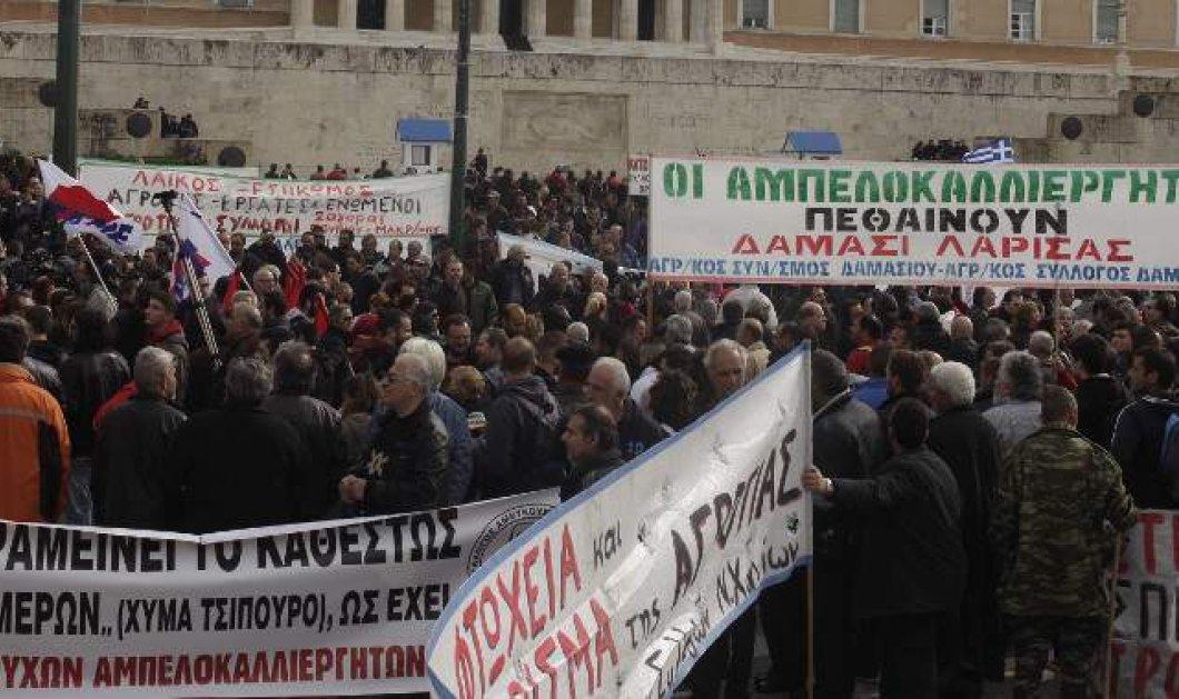 Ολοκληρώθηκε το Συλλαλητήριο – Αποχωρούν οι αγρότες από το Σύνταγμα – Ανοίγουν οι δρόμοι στο Κέντρο - Κυρίως Φωτογραφία - Gallery - Video