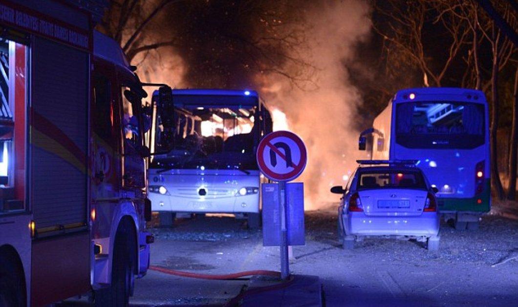 Συγκλονιστικές φωτό & βίντεο από το μακελειό στην Τουρκία - 21 νεκροί & ο Νταβούτογλου ακύρωσε το ταξίδι - Κυρίως Φωτογραφία - Gallery - Video