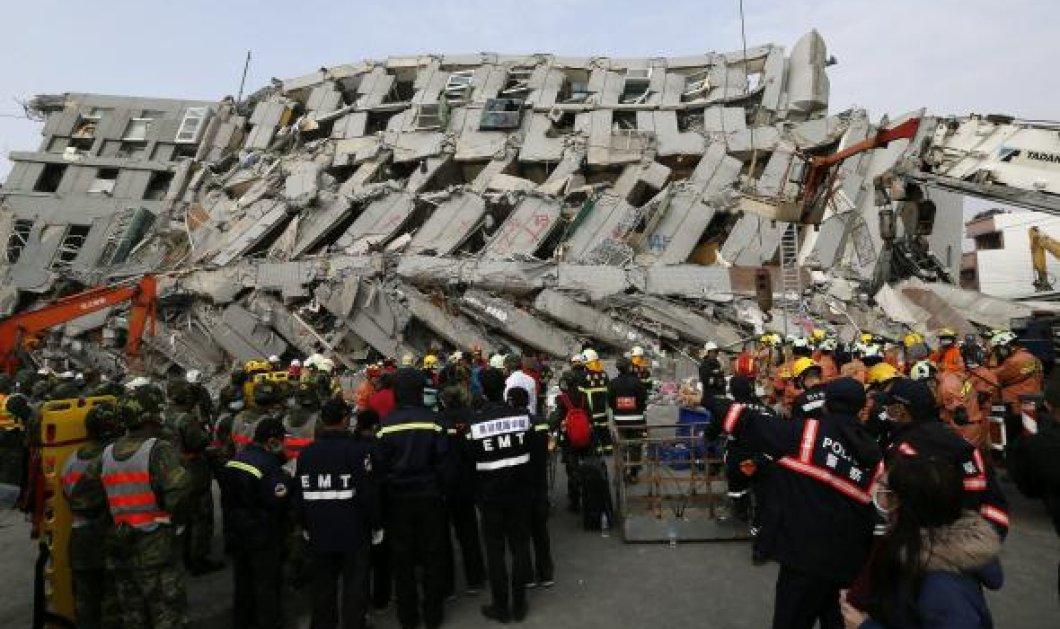Πένθος στην Ταϊβάν: 112 πτώματα ανέσυραν οι διασώστες από το κτήριο που κατέρρευσε - Κυρίως Φωτογραφία - Gallery - Video