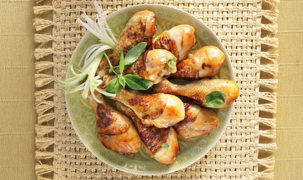 Κινέζικο κοτόπουλο στο φούρνο με σόγια και μέλι - Υπέροχη & πεντανόστιμη συνταγή από τον Χριστόφορο Πέσκια - Κυρίως Φωτογραφία - Gallery - Video