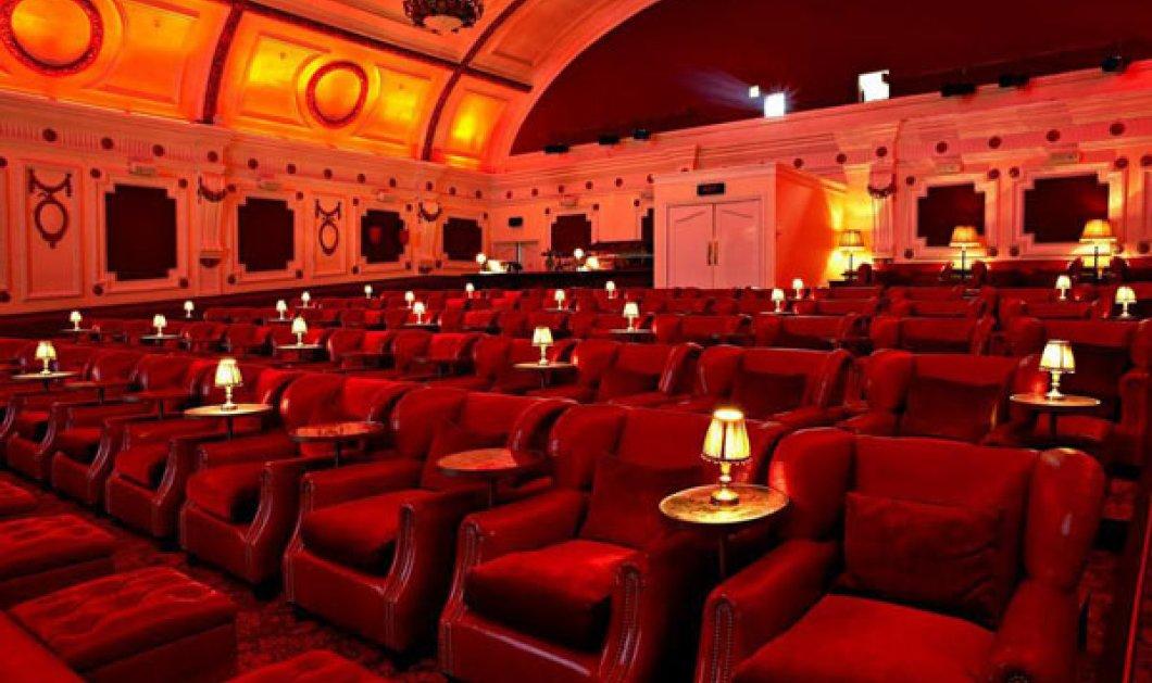 Φανταστικές αίθουσες σινεμά σε όλο τον κόσμο: Πολυτέλεια & γαστρονομικοί πειρασμοί σε 1! - Κυρίως Φωτογραφία - Gallery - Video