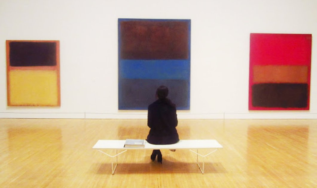Ρόθκο: Βαθύ μπλέ - Κόκκινο της φωτιάς στον πιο έντονο καλλιτέχνη που αυτοκτόνησε σαν σήμερα  - Κυρίως Φωτογραφία - Gallery - Video