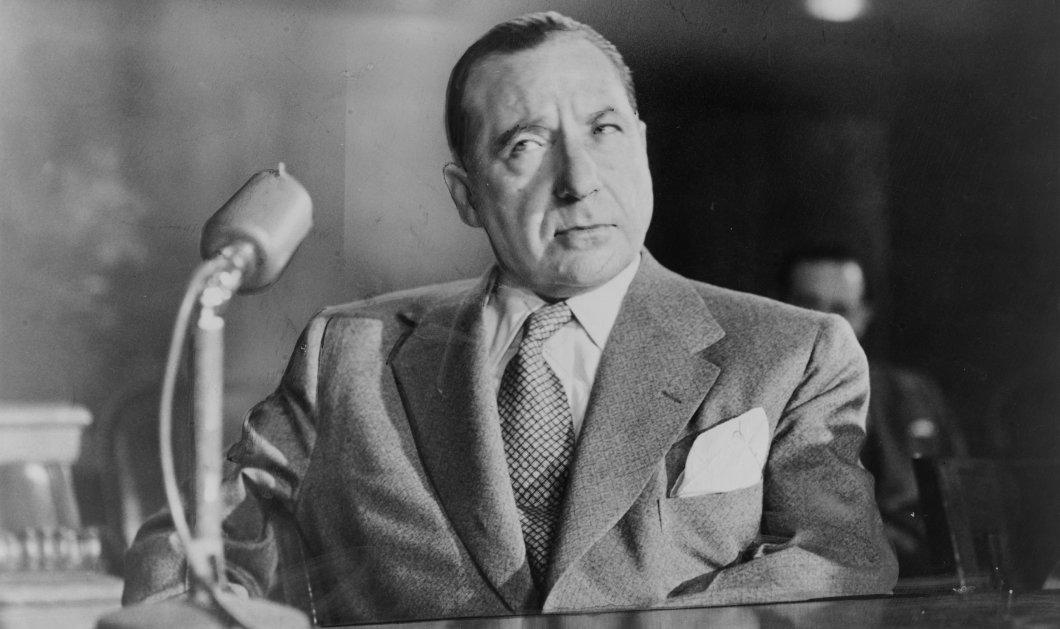 Ποιος ήταν ο Φρανκ Κοστέλο - το αφεντικό του αμερικανικού οργανωμένου εγκλήματος: Βαρόνος της Μαφίας & του υποκόσμου - Κυρίως Φωτογραφία - Gallery - Video