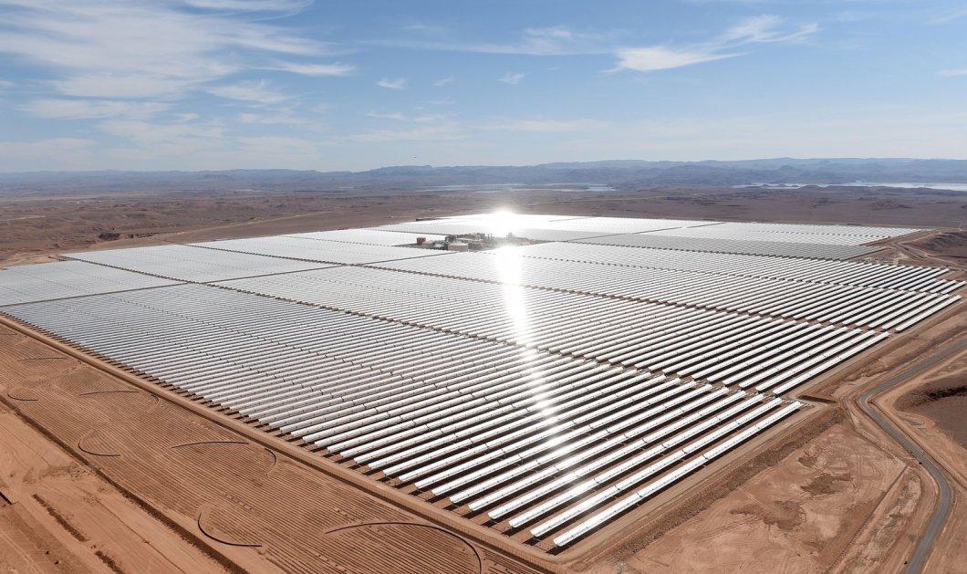 Ο βασιλιάς του Μαρόκου: Μόλις παρουσίασε το μεγαλύτερο σταθμό ηλιακής ενέργειας του κόσμου - 4,9 δισ. ευρώ   - Κυρίως Φωτογραφία - Gallery - Video