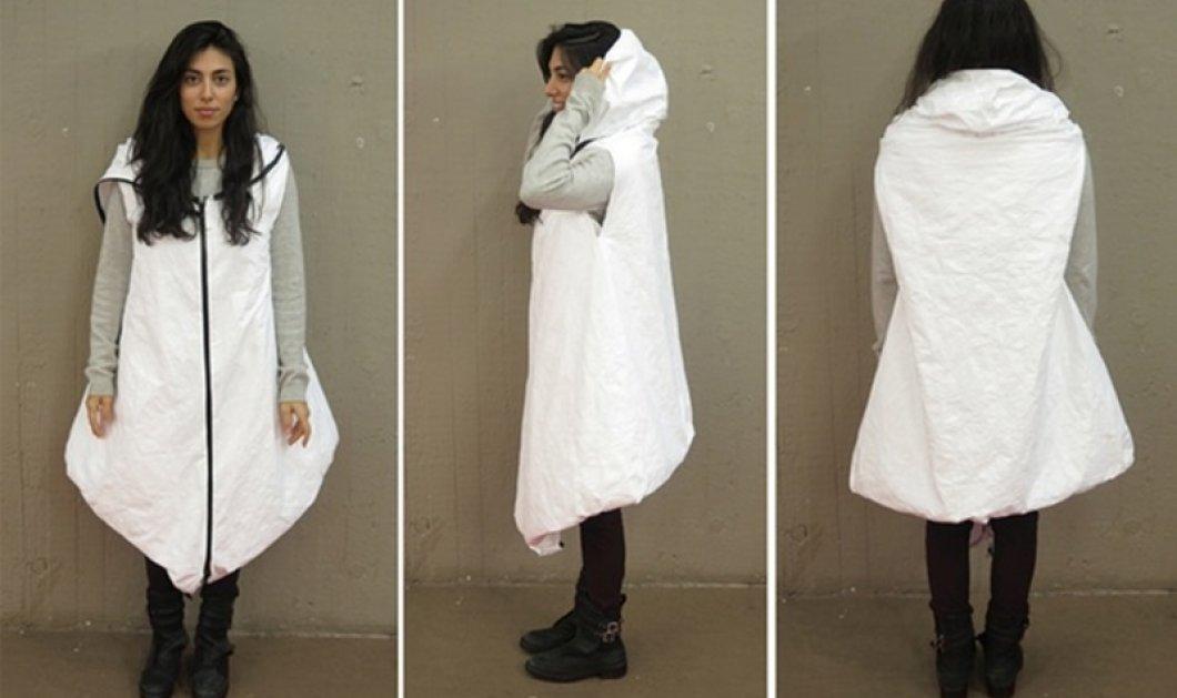 Βρετανίδες φοιτήτριες δημιούργησαν ένα παλτό-τέντα που θα σώσει τη ζωή των προσφύγων - Κυρίως Φωτογραφία - Gallery - Video