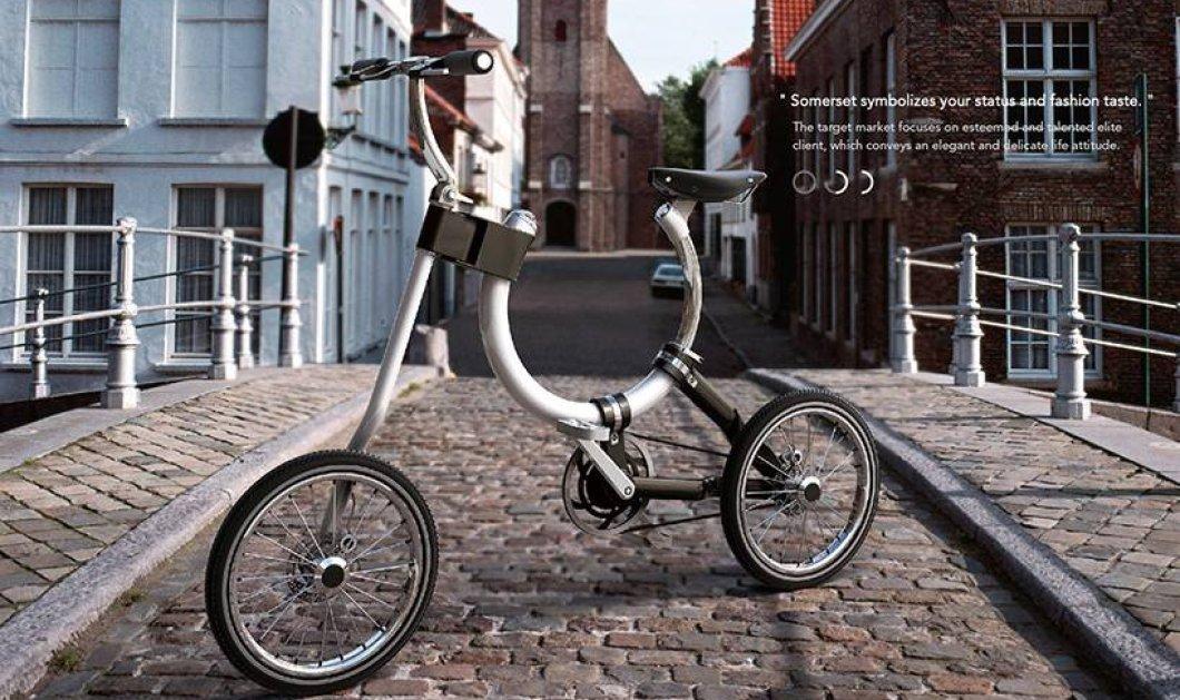 Το πρώτο οβάλ ποδήλατο στον κόσμο! Μαγικό, σε super design για να το μπαινοβγάζετε στο λεωφορείο ή το μετρό - Κυρίως Φωτογραφία - Gallery - Video