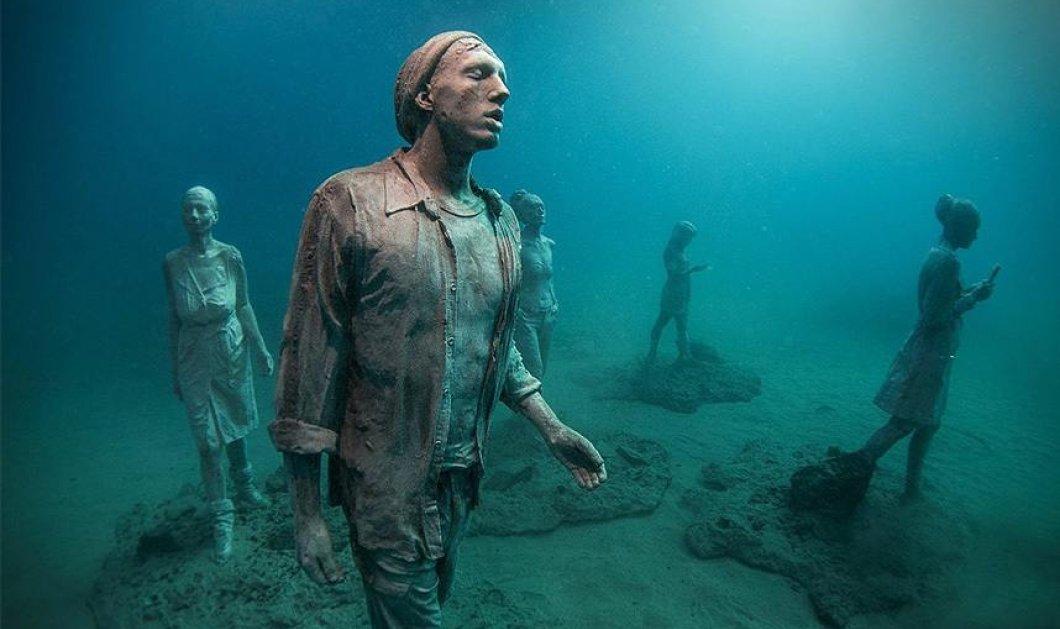 Ιδού το πρώτο υποβρύχιο μουσείο της Ευρώπης:  Εντυπωσιακές φωτό - Κυρίως Φωτογραφία - Gallery - Video