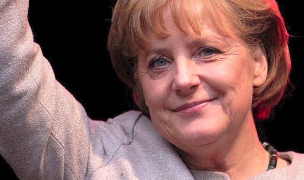 """Η Μέρκελ υπερασπίζεται με σαρκασμό τη Ζώνη Σένγκεν: """"Ναι, και πριν τη γερμανική επανένωση φυλάσσονταν ακόμα καλύτερα τα σύνορα"""" - Κυρίως Φωτογραφία - Gallery - Video"""