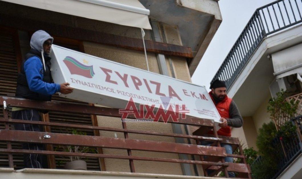 Αγρότες: Συνεχίζουν τα μπλόκα ενώ κατέβασαν ταμπέλα στα γραφεία του ΣΥΡΙΖΑ - Κυρίως Φωτογραφία - Gallery - Video