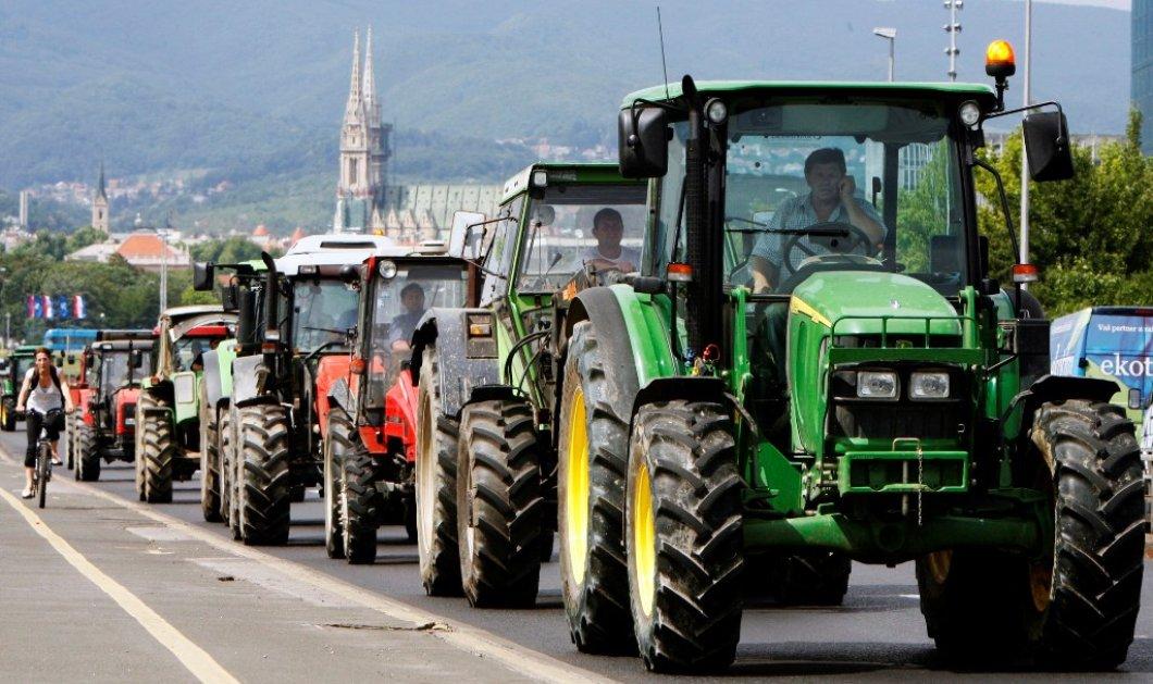 Αγριεύουν οι αγρότες: Έκλεισαν Μπράλος, Τέμπη, & Ισθμός - Κυρίως Φωτογραφία - Gallery - Video