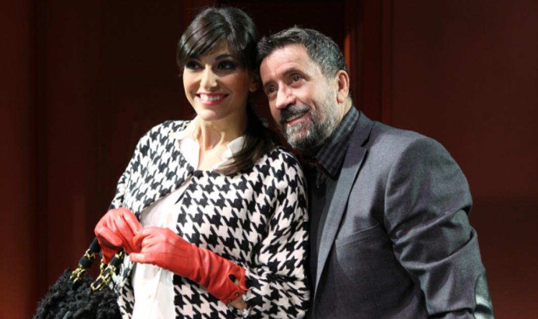 """Αποκλ. Νικολέτα Κοτσαηλίδου: Η όμορφη θεατρική παρτενέρ του Σπύρου Παπαδόπουλου μιλάει για το επιτυχημένο """"Μου λες αλήθεια"""" - Κυρίως Φωτογραφία - Gallery - Video"""