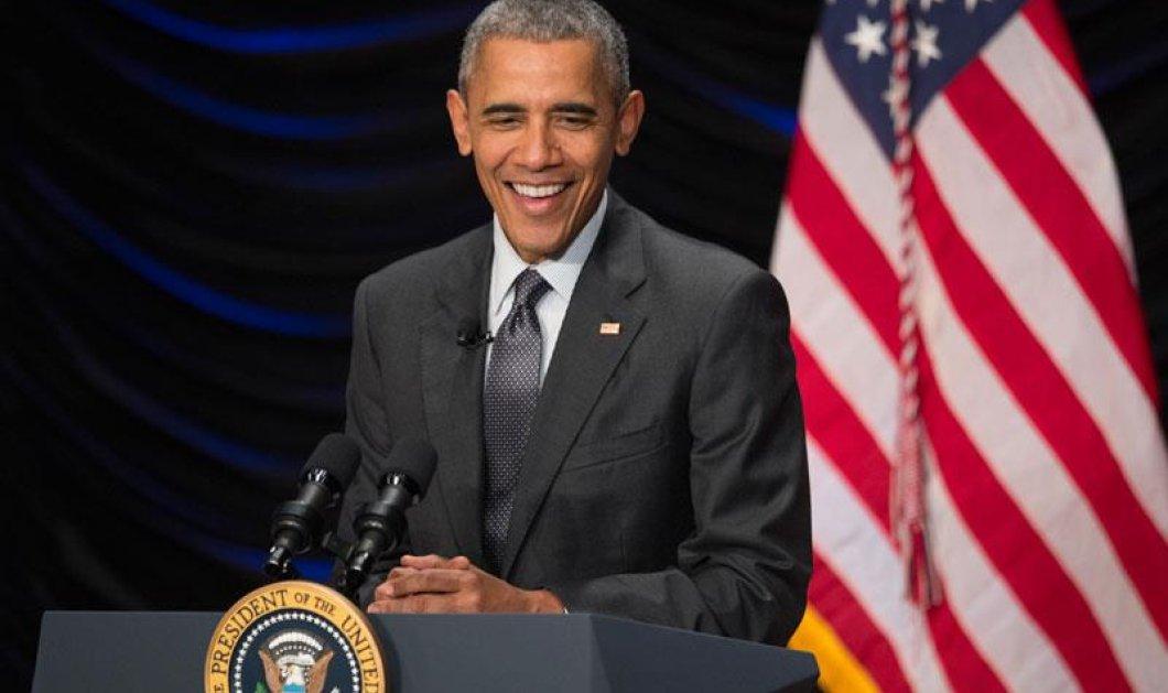 Ομπάμα: «Ο πρόεδρος είναι σοβαρή δουλειά, και άρα δεν θα την πάρει ο Τραμπ» - Κυρίως Φωτογραφία - Gallery - Video