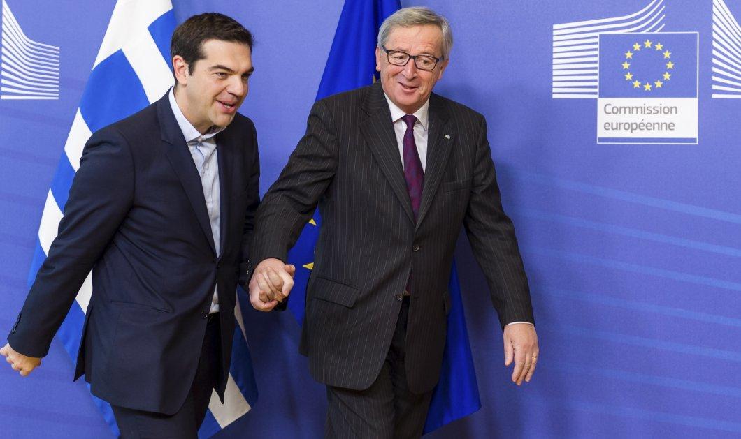 Τσίπρας και Μητσοτάκης στις Βρυξέλλες: Με Γιούνγκερ ο Πρωθυπουργός, για το προσφυγικό ο Κυριάκος  - Κυρίως Φωτογραφία - Gallery - Video
