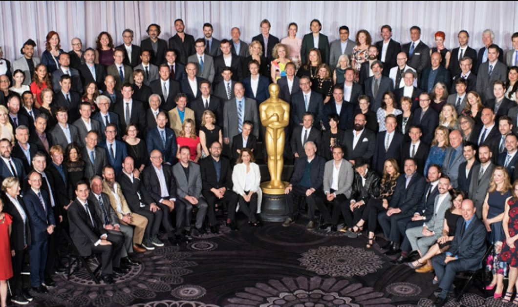 """Η """"οικογενειακή"""" φωτό των υποψηφίων για τα Όσκαρ 2016! Ο Λεονάρντο Ντι Κάπριο που είναι; Τον βρήκατε;  - Κυρίως Φωτογραφία - Gallery - Video"""