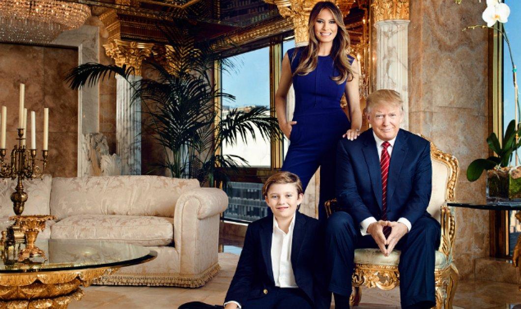 Ντόναλντ Τράμπ: Φωτό από το ''παλάτι'' που μένει με την οικογένεια του - Χρυσός 24 καρατίων & ατελείωτη χλιδή παντού - Κυρίως Φωτογραφία - Gallery - Video