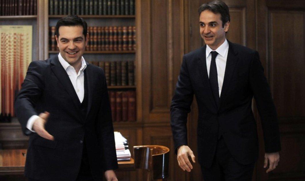 """Αντιπαράθεση """"από τα παλιά"""" στη Βουλή μεταξύ Τσίπρα και Μητσοτάκη - Πού συμφώνησαν και οι δύο - Κυρίως Φωτογραφία - Gallery - Video"""