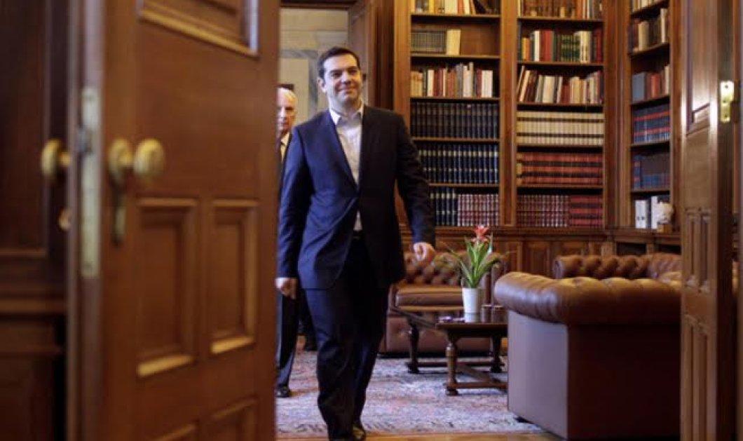 """Αλέξης Τσίπρας στην """"Αυγή"""": Το σχέδιο κάποιων για εκλογές δεν θα τους βγει - Η διαπραγμάτευση πλησιαζει στο τέλος - Κυρίως Φωτογραφία - Gallery - Video"""