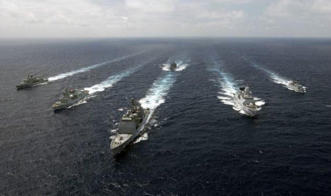 Κατέπλευσαν στο Αιγαίο οι φρεγάτες του ΝΑΤΟ: Ποιοι είναι οι επικεφαλής - Τα σημεία που βρίσκονται  - Κυρίως Φωτογραφία - Gallery - Video