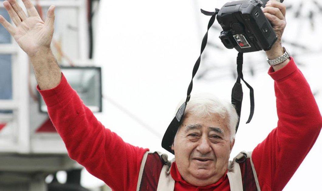 Πέθανε ο θρυλικός φωτορεπόρτερ Γιάννης Κυριακίδης, το σύμβολο της Θεσσαλονίκης- Η συναρπαστική ζωή του  - Κυρίως Φωτογραφία - Gallery - Video