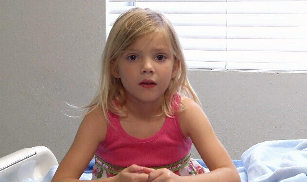 Η 5χρονη ηρωίδα που βούτηξε στην πισίνα για να σώσει την λιπόθυμη μητέρα της - Κυρίως Φωτογραφία - Gallery - Video