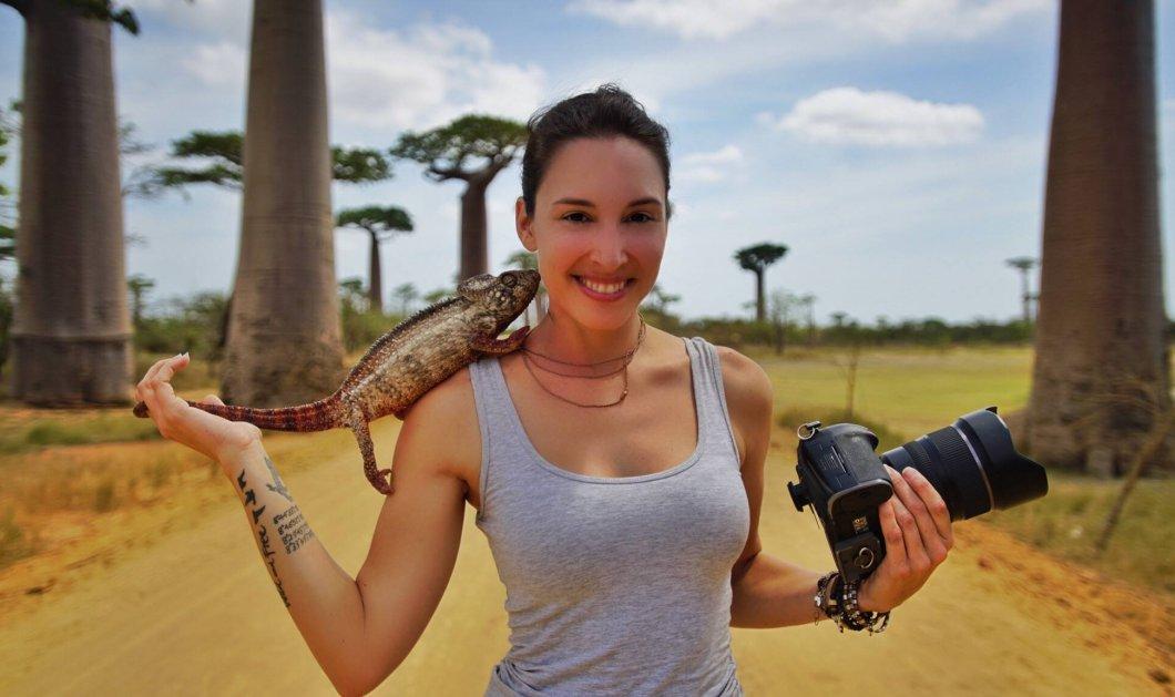 Τοp Woman η Σάνον η Άγρια: Παλεύει με ελέφαντες, την δαγκώνουν τα φίδια, την γεμίζουν ουλές τα λιοντάρια  - Κυρίως Φωτογραφία - Gallery - Video