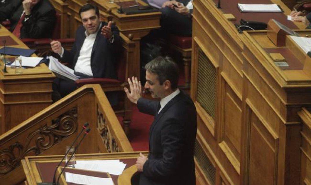 Επεισοδιακή συνεδρίαση στη Βουλή: Ακραία κόντρα Τσίπρα - Μητσοτάκη με σκληρές φράσεις - Κυρίως Φωτογραφία - Gallery - Video