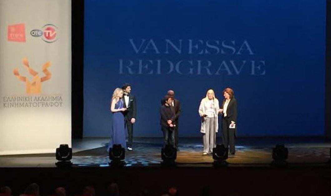 Βραβεία Ελληνικής Ακαδημίας Κινηματογράφου 2016 - Bανέσα Ρεντγκρέιβ: «Ντροπή σου Ευρώπη!» - Κυρίως Φωτογραφία - Gallery - Video
