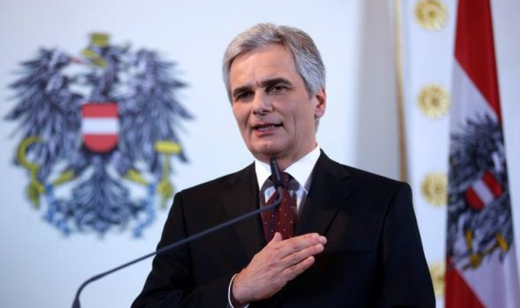 Αυστριακός Καγκελάριος: Η Μέρκελ είναι άδικη απένατί μας - Μας καταστρέφει η πολιτική της για το προσφυγικό - Κυρίως Φωτογραφία - Gallery - Video