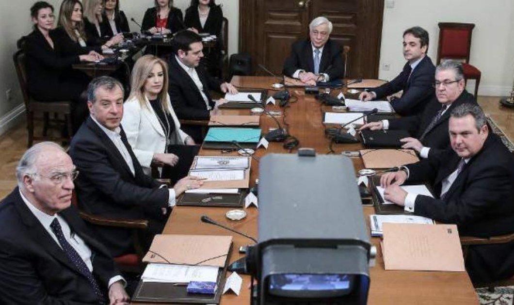 Οι Αρχηγοί καρφώνουν τον Τσίπρα: Ή δεν ξέρει τι υπογράφει ή λέει ψέματα  - Κυρίως Φωτογραφία - Gallery - Video