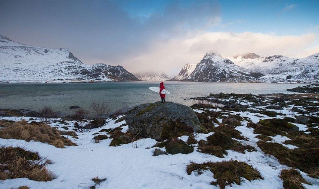 Βίντεο & φωτό: 1000 σέρφερς στα παγωμένα νερά της Αρκτικής - Μόνο για γερές καρδιές  - Κυρίως Φωτογραφία - Gallery - Video