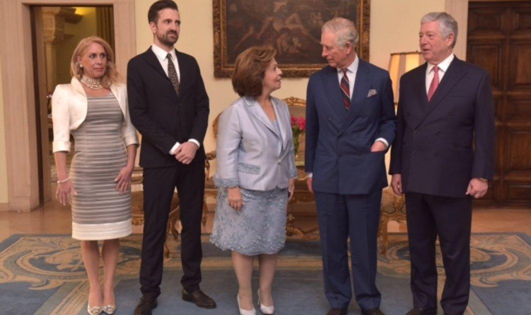 Φωτό: Ο Πρίγκιπας Κάρολος & η Καμήλα με τον Πρίγκιπα Αλέξανδρο και την Ελληνίδα σύζυγο  του Πριγκίπισσα Αικατερίνη της Σερβίας  - Κυρίως Φωτογραφία - Gallery - Video