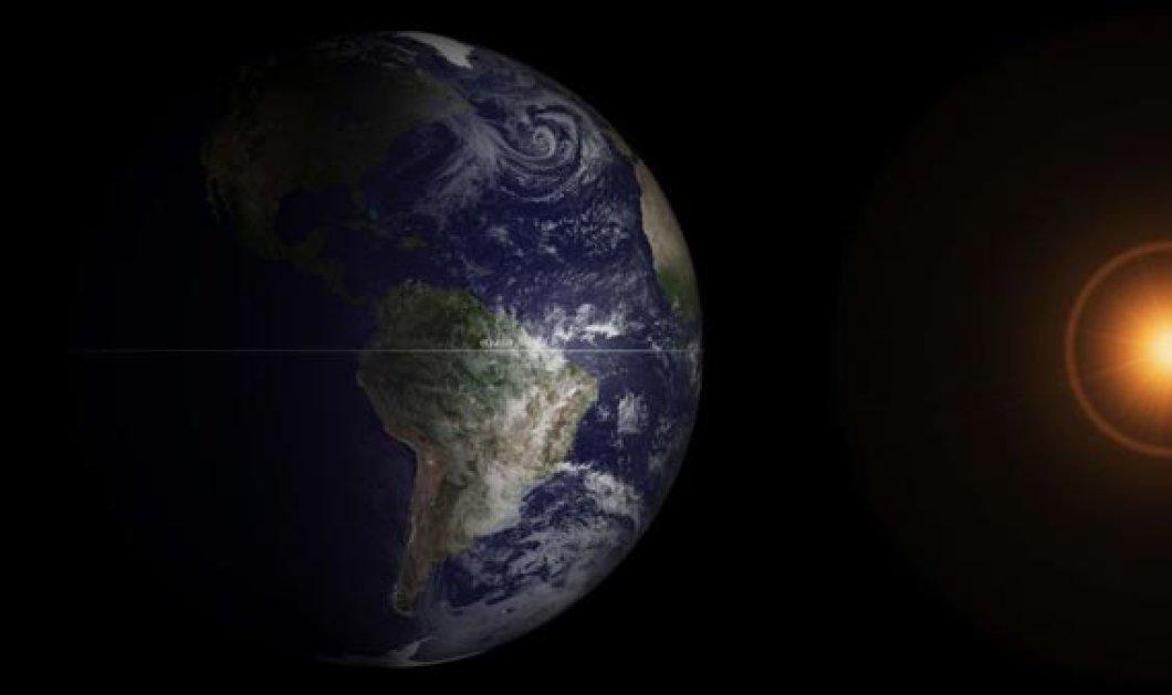 Δορυφόρος απαθανατίζει την εαρινή ισημερία - H έλευση της άνοιξης σε 1 μόνο βίντεο - Κυρίως Φωτογραφία - Gallery - Video
