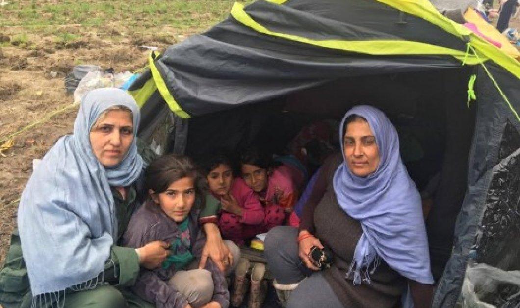Επέστρεψε στην Ειδομένη η 9χρονη Αρούα - Είχε διαγνωστεί με ηπατίτιδα Α - Κυρίως Φωτογραφία - Gallery - Video