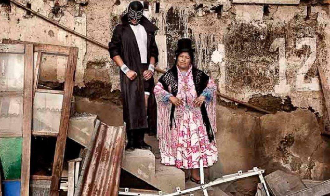Οι γυναίκες μαχητές της Βολιβίας - Απίστευτη δύναμη κάτω από πολύχρωμα φουστάνια - Κυρίως Φωτογραφία - Gallery - Video