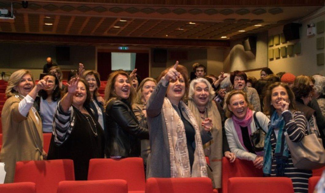 Ποιο σχολείο τελείωσαν οι ηθοποιοί μας Μιμή Ντενίση & Κάτια Δανδουλάκη;  Συγκινητική γιορτή αποφοίτων  - Κυρίως Φωτογραφία - Gallery - Video