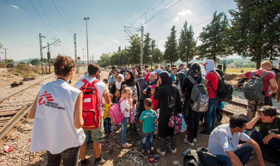 Γιατροί χωρίς Σύνορα: Αποχωρήσαμε προσωρινά από την Ειδομένη για λόγους ασφαλείας - Κυρίως Φωτογραφία - Gallery - Video
