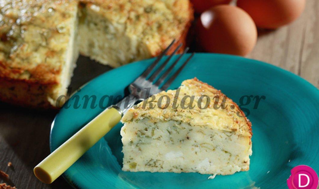 Παραδοσιακή πίτα Τυρινής από την μία και μοναδική Ντίνα Νικολάου - Κυρίως Φωτογραφία - Gallery - Video
