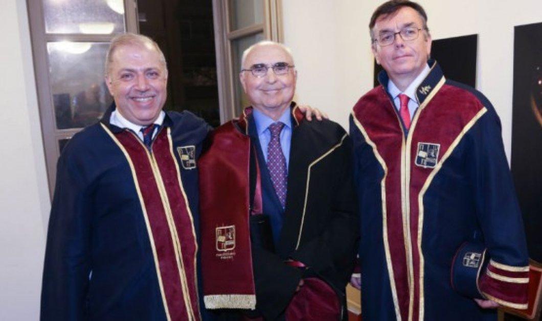 Ο πρόεδρος της Aegean κ. Θεόδωρος Βασιλάκης αναγορεύτηκε επίτιμος διδάκτορας του Πανεπιστημίου Πειραιώς - Κυρίως Φωτογραφία - Gallery - Video