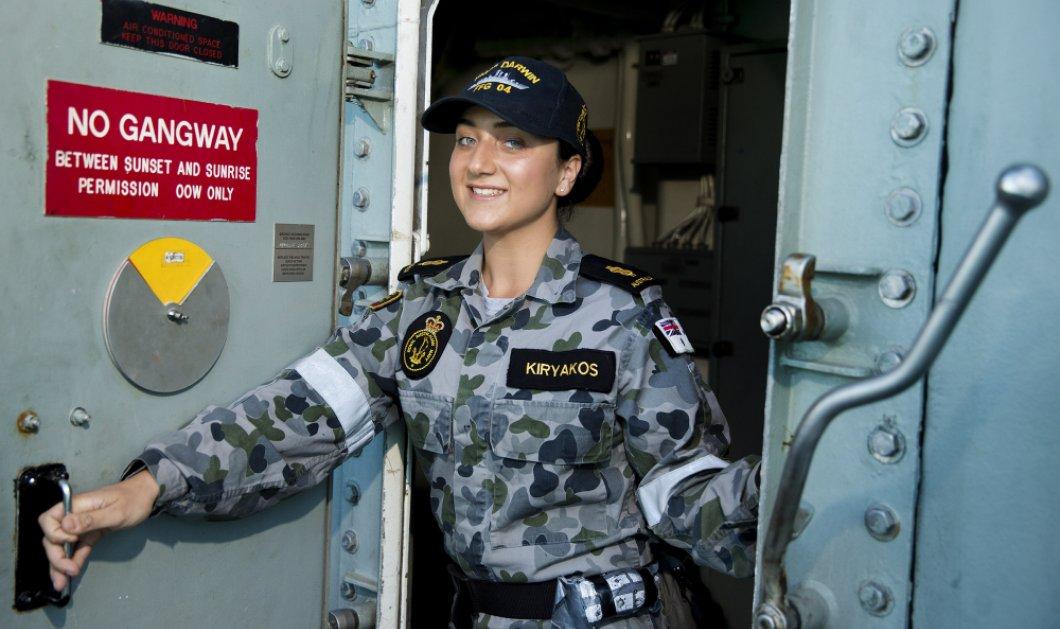 Top Woman η Ελληνοαστραλέζα Kathy Kiryakos - Υπηρετεί στο Βασιλικό Ναυτικό της Αυστραλίας - Κυρίως Φωτογραφία - Gallery - Video