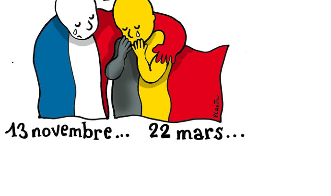 Ραγίζει καρδιές το σκίτσο της εφημερίδας Le Monde: Γαλλία και Βέλγιο κλαίνε μαζί - Κυρίως Φωτογραφία - Gallery - Video