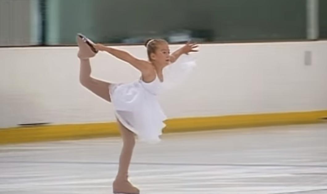 Βίντεο: Αυτή η απίθανη μικρή παγοδρόμος εντυπωσιάζει με τις φιγούρες της - Δείτε την! - Κυρίως Φωτογραφία - Gallery - Video