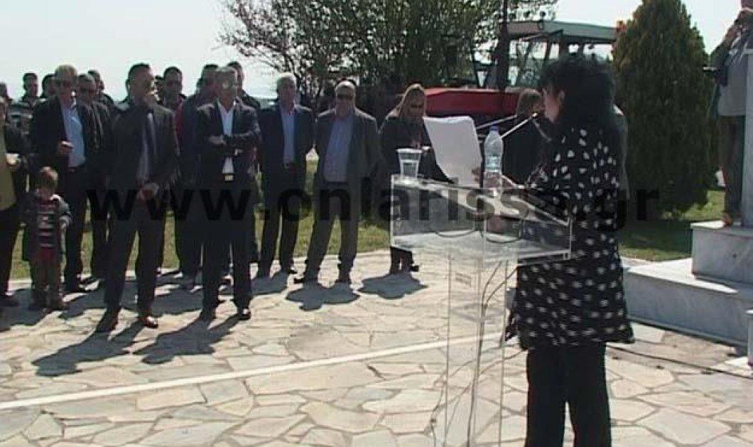 Αγρότες αποδοκίμασαν την βουλευτή ΣΥΡΙΖΑ & ηθοποιό Άννα Βαγενά στο Κιλελέρ - Κυρίως Φωτογραφία - Gallery - Video