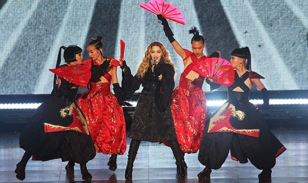 Madonna: Ξεγύμνωσε πάνω στη σκηνή τη 17χρονη καλλονή Ελληνίδα Ζ. Γεωργίου  - Βίντεο & φωτό - Κυρίως Φωτογραφία - Gallery - Video
