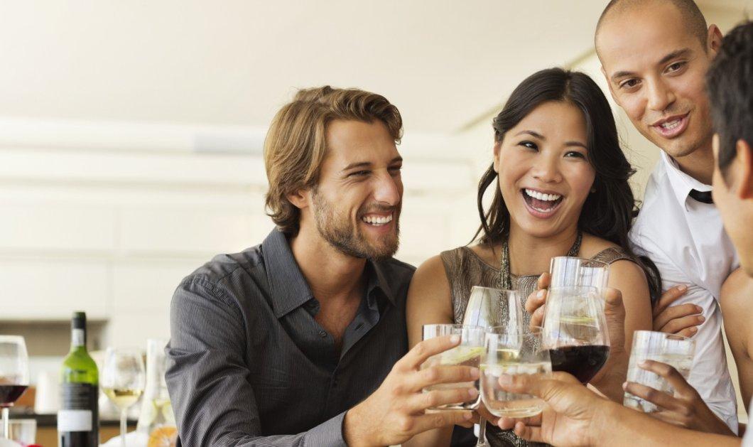 Κι όμως! Νέες έρευνες επιβεβαιώνουν πως δύο ποτήρια κρασιού μπορούν να αδυνατίσουν - Κυρίως Φωτογραφία - Gallery - Video