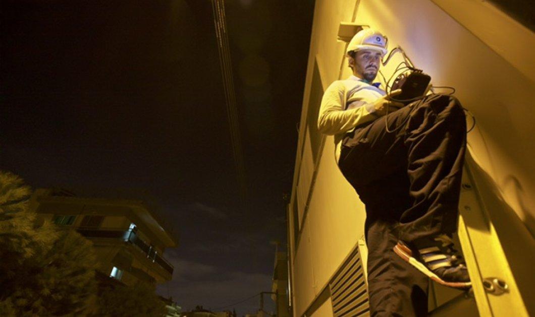 Επιδιόρθωση τηλεπικοινωνιακής βλάβης τη νύχτα: Όταν ο παππούς θέλει φάρμακα ή χρήματα από το ΑΤΜ - Κυρίως Φωτογραφία - Gallery - Video